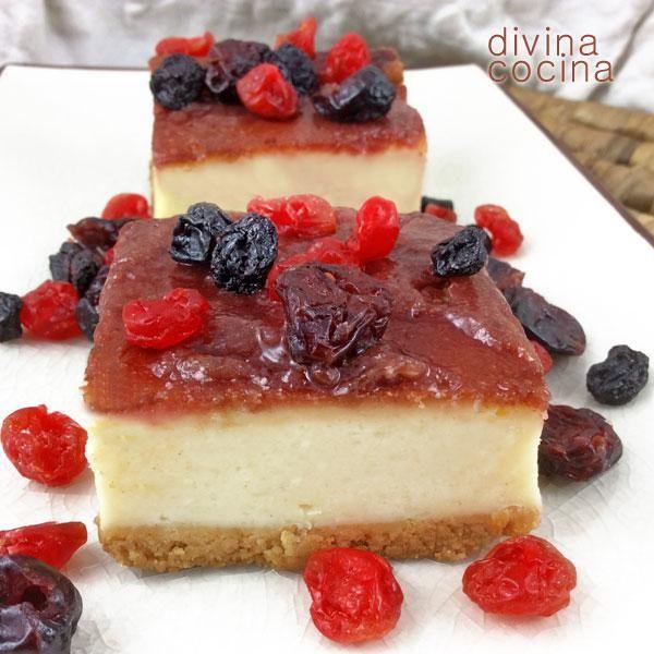 Tarta de queso y chocolate blanco