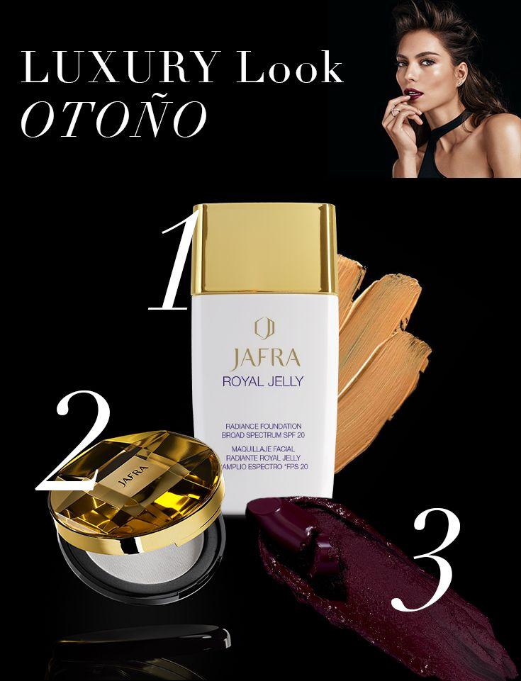¡Simplemente irresistible! #JAFRA #JAFRAMéxico #JAFRARoyalJelly #color #labiales #baselíquida #polvo #labios #maquillaje #mujer #chica #tendencia #look #noche  #nuevo #catálogo