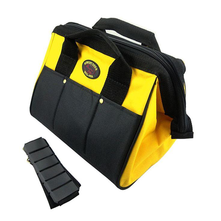 $28.32 (Buy here: https://alitems.com/g/1e8d114494ebda23ff8b16525dc3e8/?i=5&ulp=https%3A%2F%2Fwww.aliexpress.com%2Fitem%2FOxford-cloth-and-composite-material-tool-bag-mutilfaction-tool-waterproof-portable-and-shoulder-good-quality-Free%2F32227773213.html ) Protable and shoulder tool bag maleta de ferramentas oxford cloth and composite material durable waterproof mutifaction for just $28.32