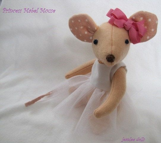Princess Mouse pattern pdf format