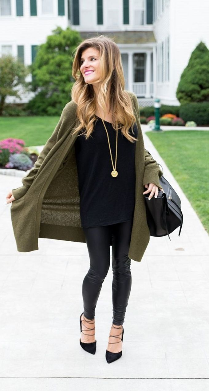 What to Wear Leggings This Winter Over 50 Best Outfits – Outfits – #best #These #Leggings #Outfits #You