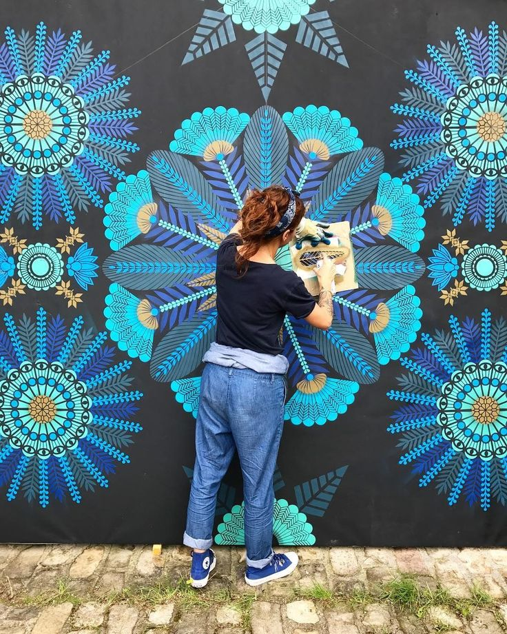 French artist Koralie creates vibrant, absorbing wall art and works on canvas that combine influences from both traditional and contemporary Japanese art, African and English history, and even wall…