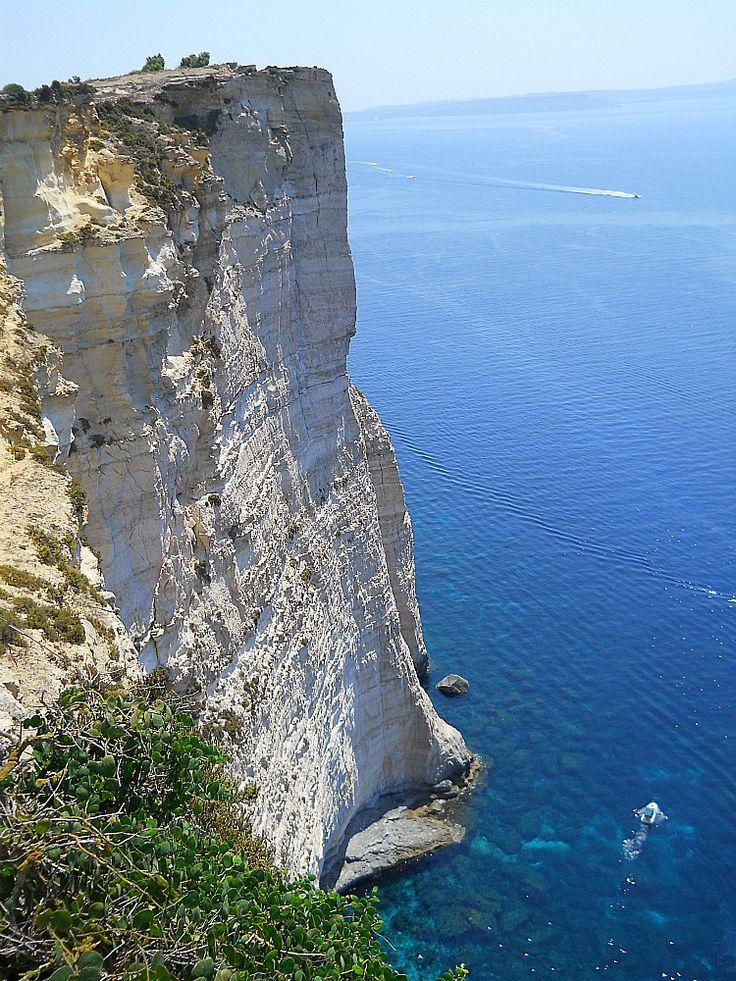 #Gozo cliffs #Malta