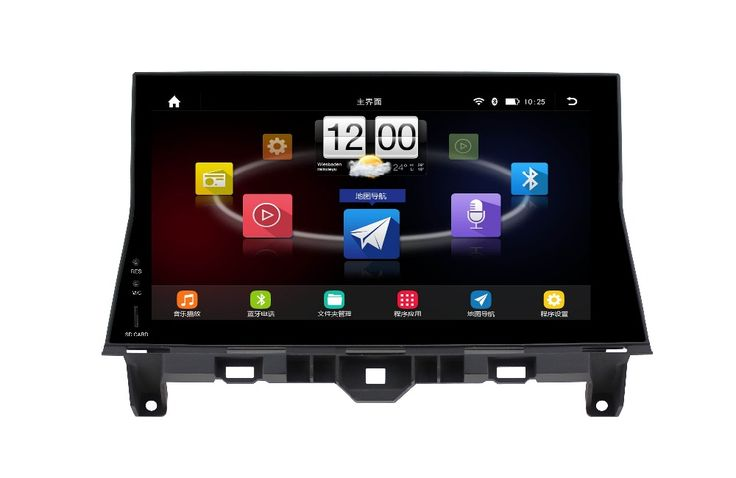 10.1 inch 1024 x 600 Android 4.4.4 for HONDA accord 2008-2012,car deckless gps navigation,3G,BT,Wifi,canbus,Russian,english