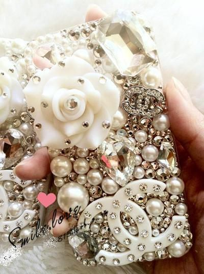 I found a cell phone cover for you. It's pretty pearl-bling-tastic! lol