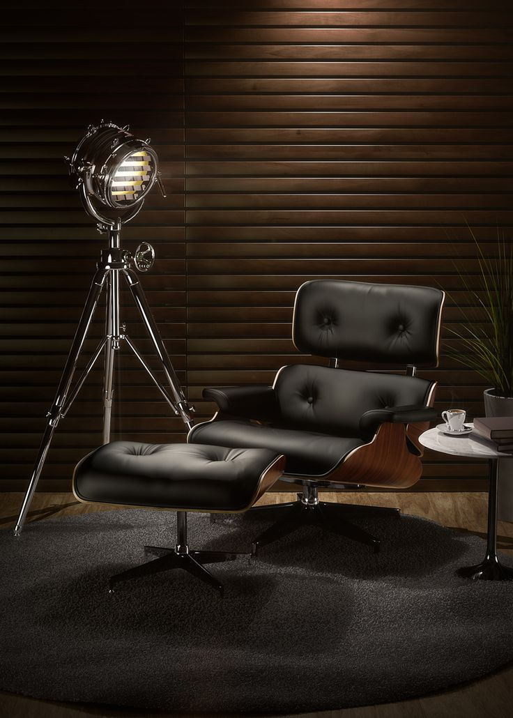 If its possible to be in love with a chair then I am madly in love with the eames lounge chair aka the Billy Wilder lounge chair designed by Charles and Ray Eames and sold by Herman Miller