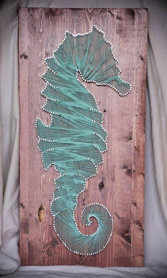 Best 25 diy string art ideas on pinterest the pineapple for Fish string art
