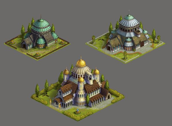 Online Strategy Game Artwork on Behance