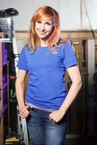 Kari Byron, Mythbusters co-host!