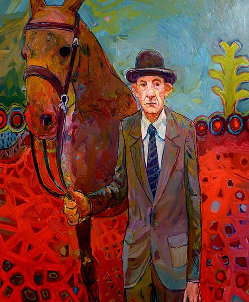 Meirion Alan Ginsberg. Man With Horse