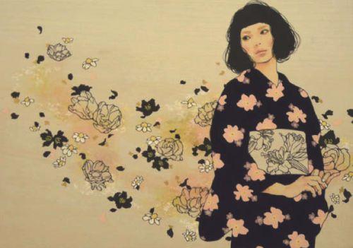 "taishou-kun: "" Hata Eriko 秦絵里子 aka Qin Eriko Silhouette Minuet シルエット・メヌエット - 2010 """