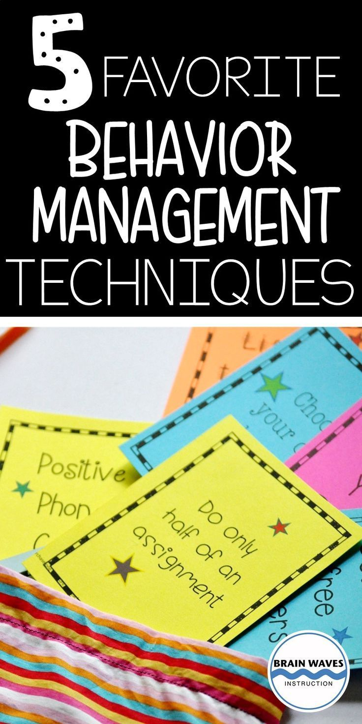Looking for simple and effective behavior management techniques then check out this set of