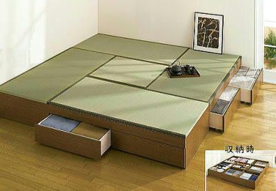 高床式収納ユニット畳