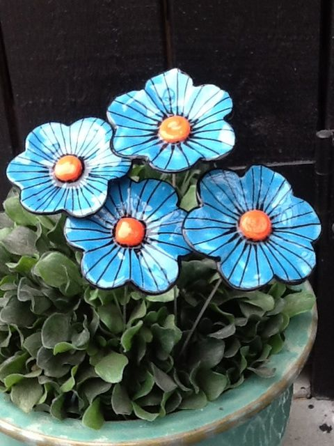 Daisy Striped Turquoise