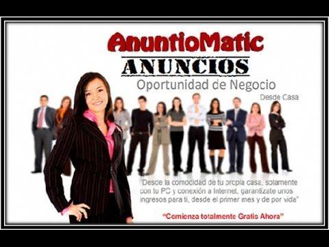 GANA DINERO EN INTERNET CON ANUNTIOMATIC