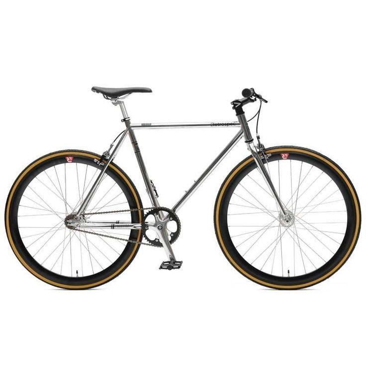 Retrospec Mantra V2 Fixed-Gear / Single-Speed Bike #AllThingsBikes