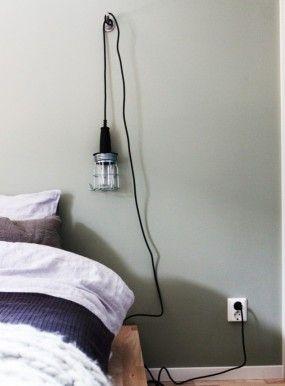 DIY -bygglampa