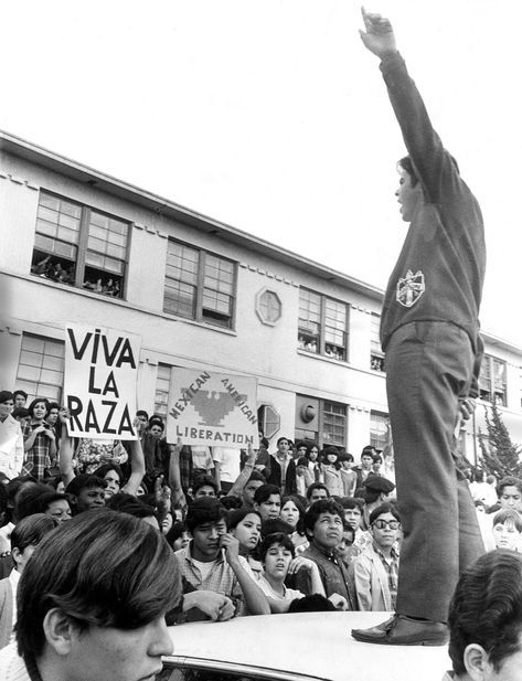 On March 1, 1968, thousands of students walked out of four Los Angeles high schools. Most were of Mexican descent; they marched for better teachers, better facilities and college prep courses. The walkouts spread to include 22,000 students across L.A. and ignited a generation of Chicano activism.
