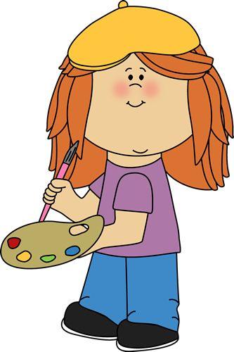 Little Girl French Artist