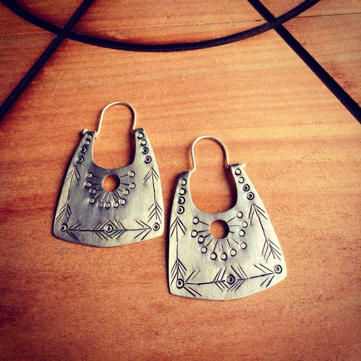 #boho #style #silver #jewelry #handmade