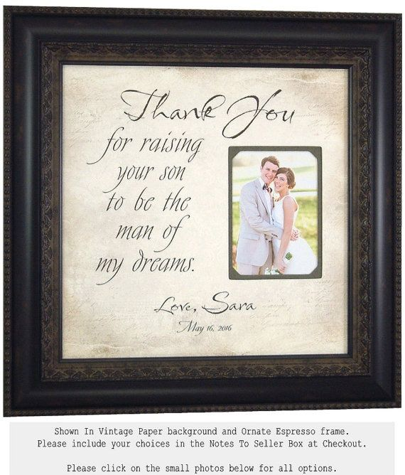 939 best Wedding Thank You Gifts for Parents images on Pinterest ...
