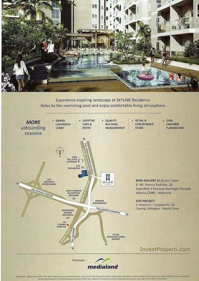 Flyer Skyline Residence Cawang hal ke -2