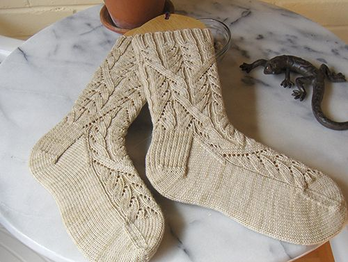Daily Knit Pattern: Cadence Socks - free pattern