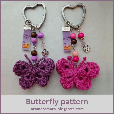 Tamigurumi: Butterfly pattern  You won't believe how simple this is!
