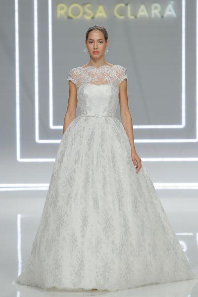 60 vestidos de novia corte princesa 2017 que querrás lucir ¡Elige el tuyo! Image: 49