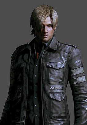 Leon S. Kennedy (via: http://gamewise.co/characters/501/Leon-S-Kennedy)