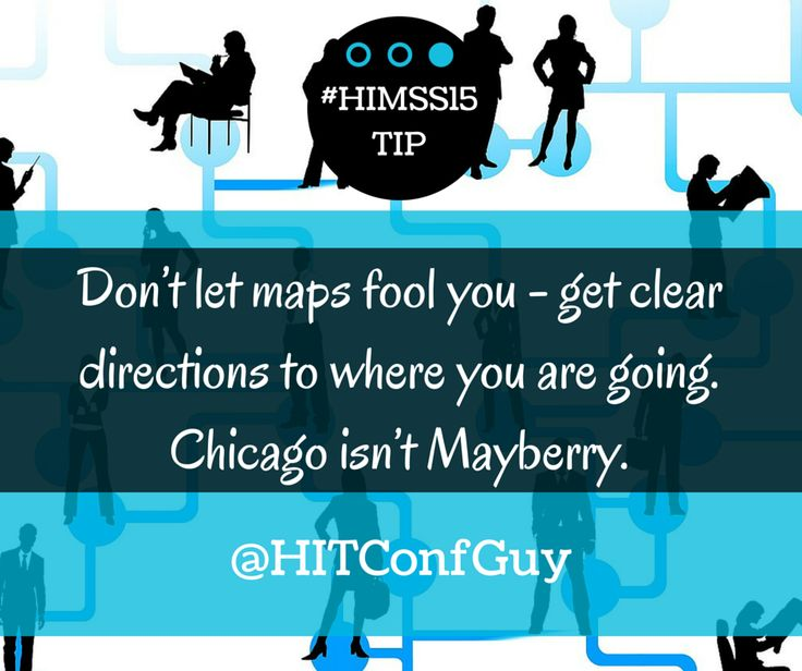 If you could only visit one place while in Chicago, where would you go? http://goo.gl/JO1yJ9   #HIMSS15 tips via @HITConfGuy