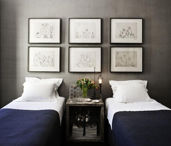 Antonio Martins Design via @Remodelista: Decor, Interior, Ideas, Guest Bedrooms, Twin Beds, Guest Rooms, Design