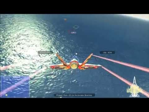 Air Strike is 3D airplane game only on edygames.com with great 3D graphics.Your duty is to fly the airplane as fast as you can and try to eliminate the enemy airplanes and the navy with your rockets and bombs.  Prove you skills once again by finish alive all missions. Enjoy it only on edygames.com!!!