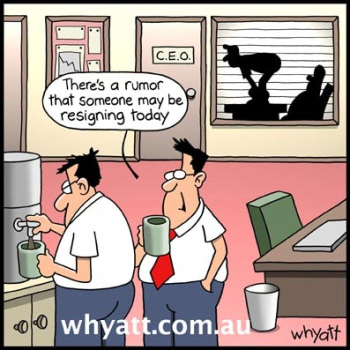 Funny office cartoon Funny office cartoon
