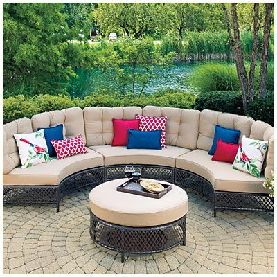 Capri Resin Wicker Patio SetWilson U0026 Fisher® Capri Resin Wicker Patio Set  $999.99 Set Create