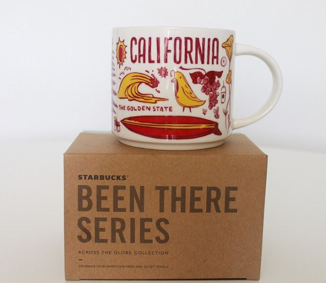 Starbucks Coffee Been There Series Mug CALIFORNIA Cup 14oz w//SKU