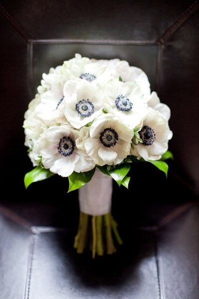 Anemone Flower Arrangements Wedding Flowers Photos on WeddingWire