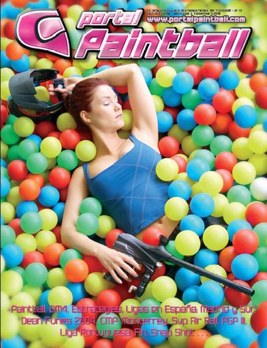 Portada Revista Paintball