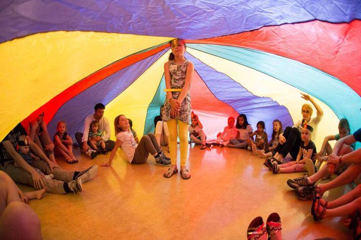 Pinksteren Met Een Parachute