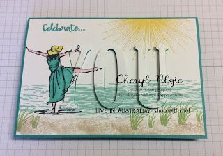 """Cheryl Algie """"Independent Stampin' Up! ® Demonstrator"""" : MORE ECLIPSE TECHNIQUE CARDS"""