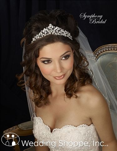 Order a Symphony 7307CR Bridal Headpiece at The Wedding Shoppe today