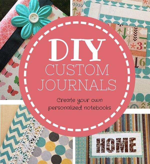 CreativeSteph13: DIY Custom & Personalized Journals