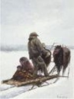 Allen Sapp  Allen received his Cree name, Kiskayetum; translated it means �He perceives it.� It was the first of many spiritual experiences in his life. Yet an international reputation has not come easy to Allen Sapp.