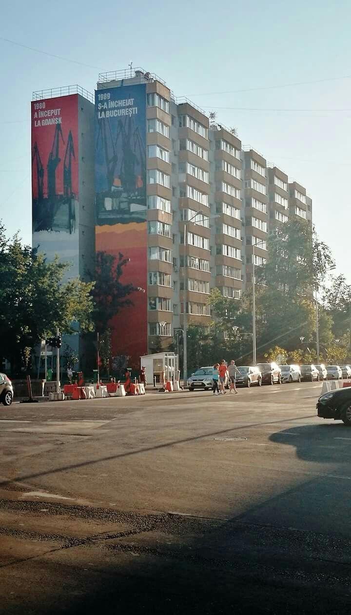 Artă urbană super cool la Valea Ialomiței, în Drumul Taberei