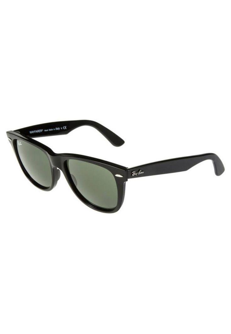 "Ray-Ban. ORIGINAL WAYFARER - Sunglasses - schwarz. UV protection:yes. Pattern:plain. Frame style:Wayfarer. Bridge width:0.5 "" (Size 54). Total width:6.0 "" (Size 54). Glasses case:hard case. Arm length:5.5 "" (Size 54)"