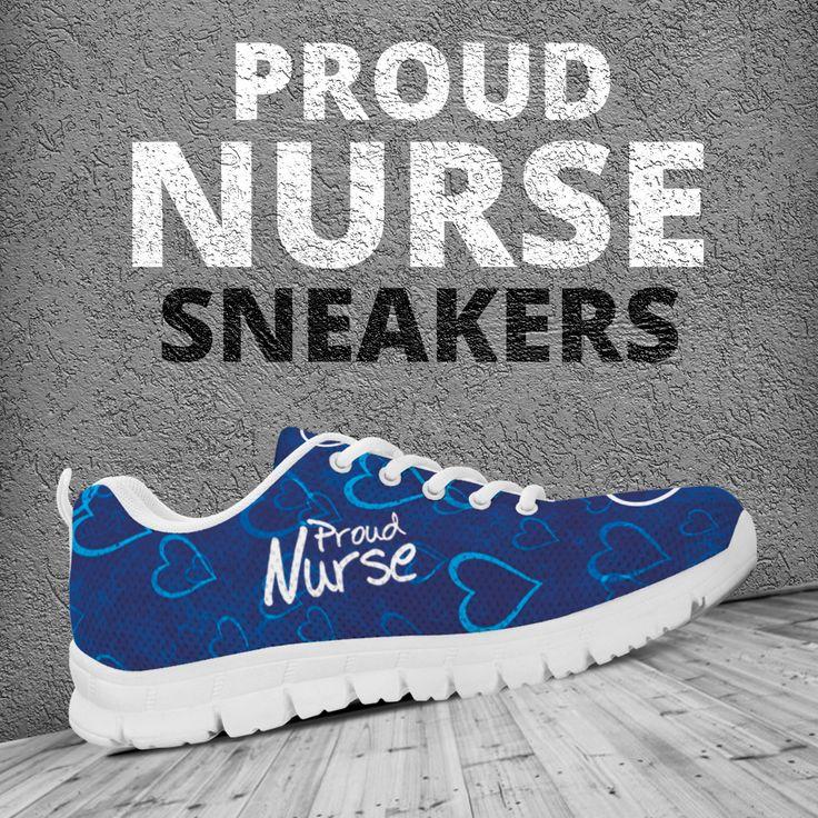 WOMENS SNEAKERS *Proud Nurse* – My Shopn