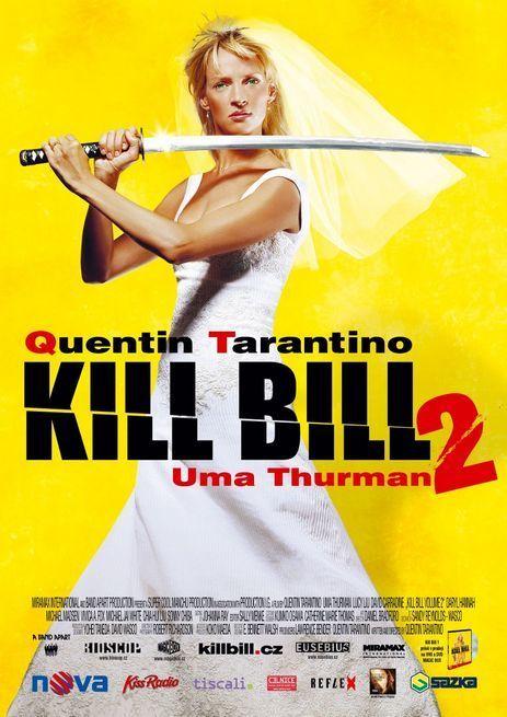 Kill Bill 2 movie poster