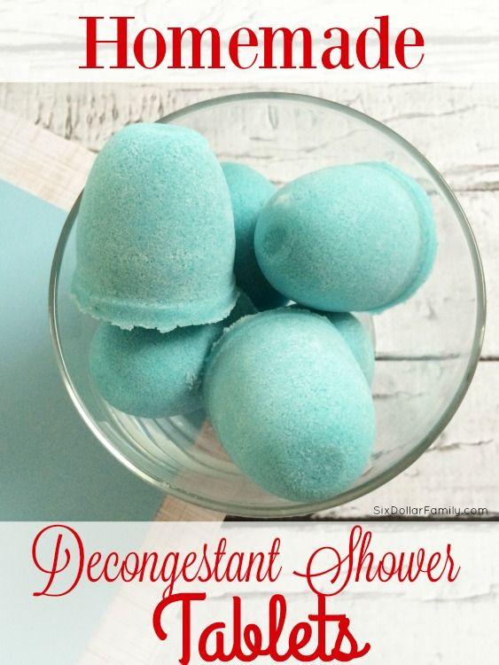 Homemade Decongestivum Shower Tabletten - Sla de winkel gekocht damp tablets!  Deze zelfgemaakte natuurlijke remedie werkt veel beter, goedkoper en zijn zo makkelijk te maken!  U zult zich afvragen je zo lang om de overstap te maken gewacht!