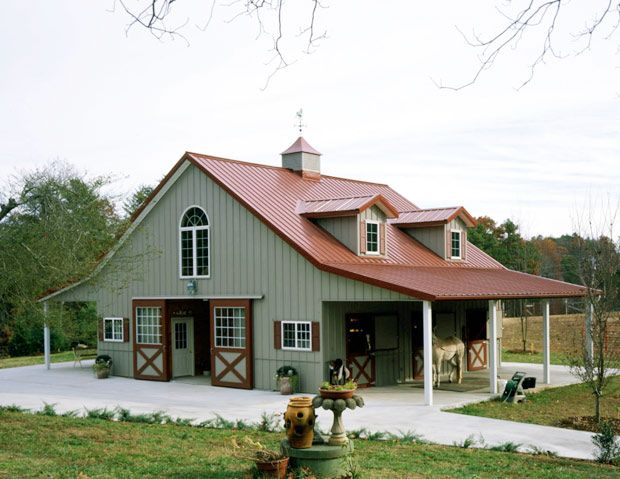 This would be perfect!Dreams Barns, Copper Roof, Buildings Process, Future, Awesome Barns, Buildings Components, Barns Style, Buildings Living, Barns Ideas