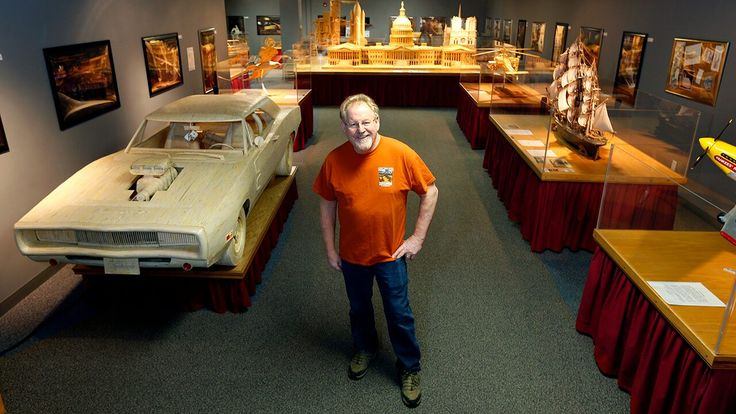 World's hottest car? Matchstick artist builds picture-perfect 1970 Dodge Charger